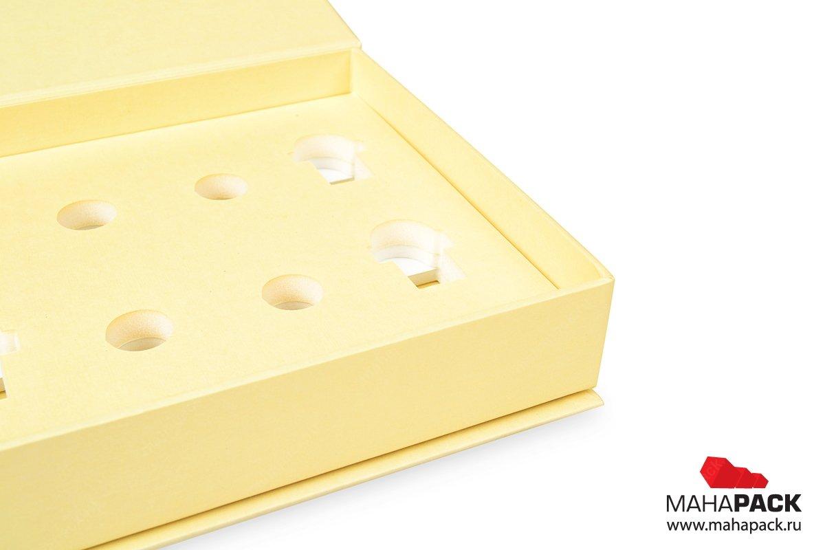 изготовление коробок с изолоновым ложементом