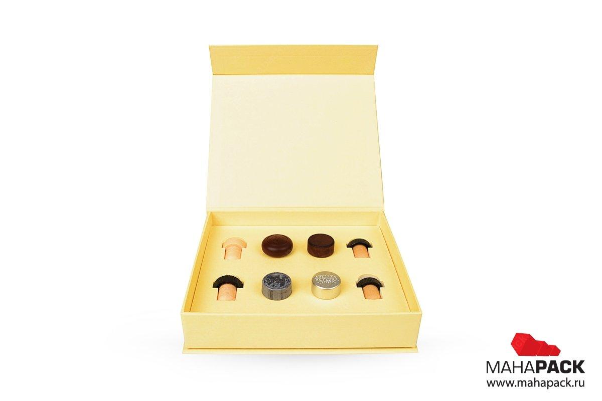 индивидуальная кашированная коробка для образцов продукции