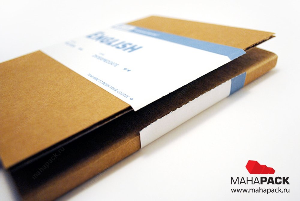 Упаковка для флешки с ложементом из микрогофрокартона