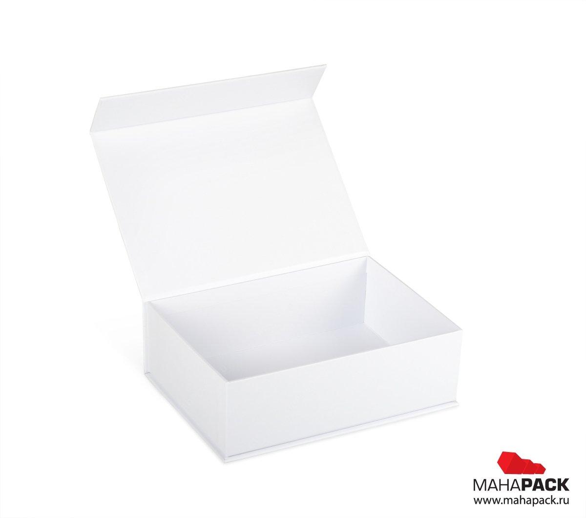 Индивидуальная кашированная коробка на магните