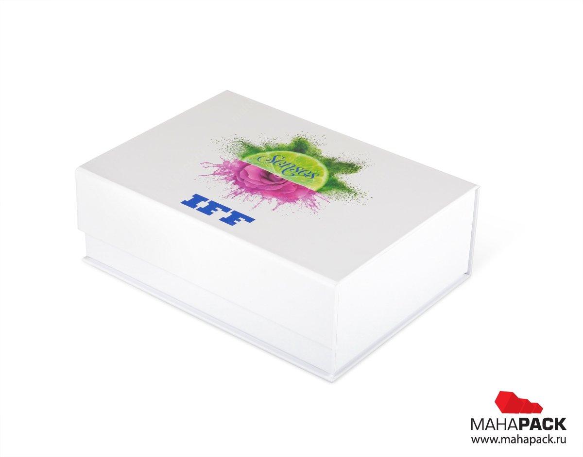 Коробка из переплетного картона с полноцветной печатью