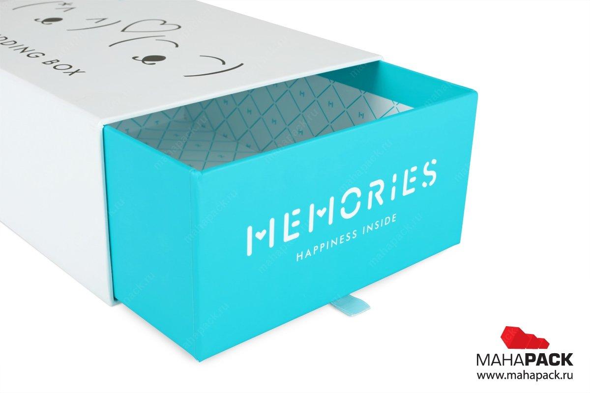Коробка пенал для подарка 34