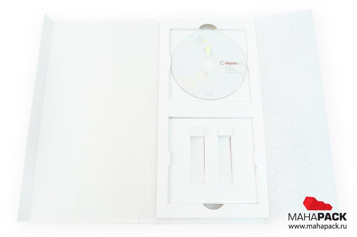 Коробка для ПО: диск + 2 электронных ключа