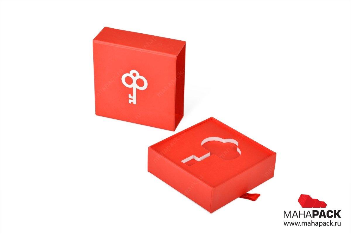 подарочная упаковка с логотипом