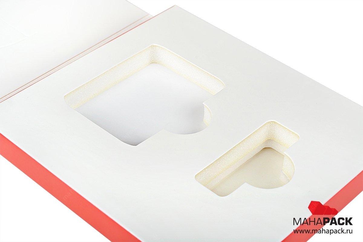 индивидуальная картонная упаковка с ложементом