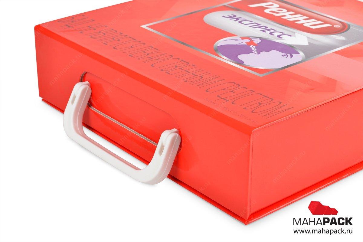 фирменные портфели с образцами продукции