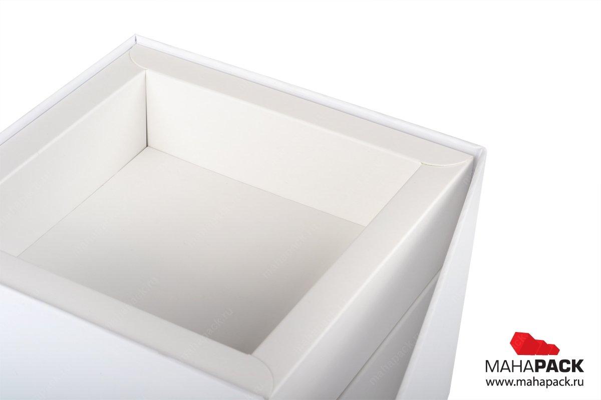 Изготовление подарочных коробок с картонным ложементом