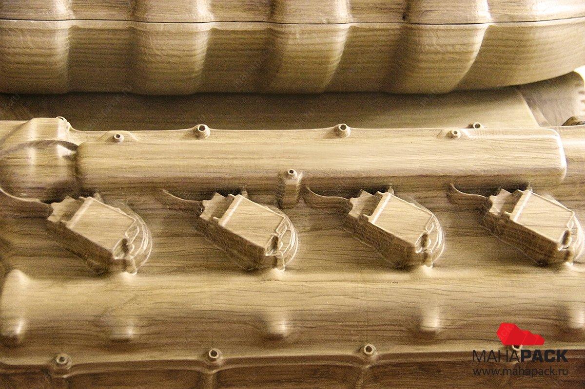 уникальные коробки из дерева