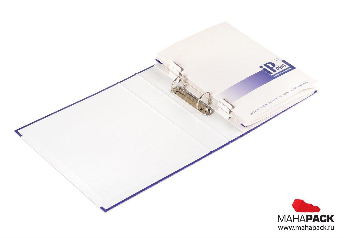 папка для образцов продукции и буклета компании