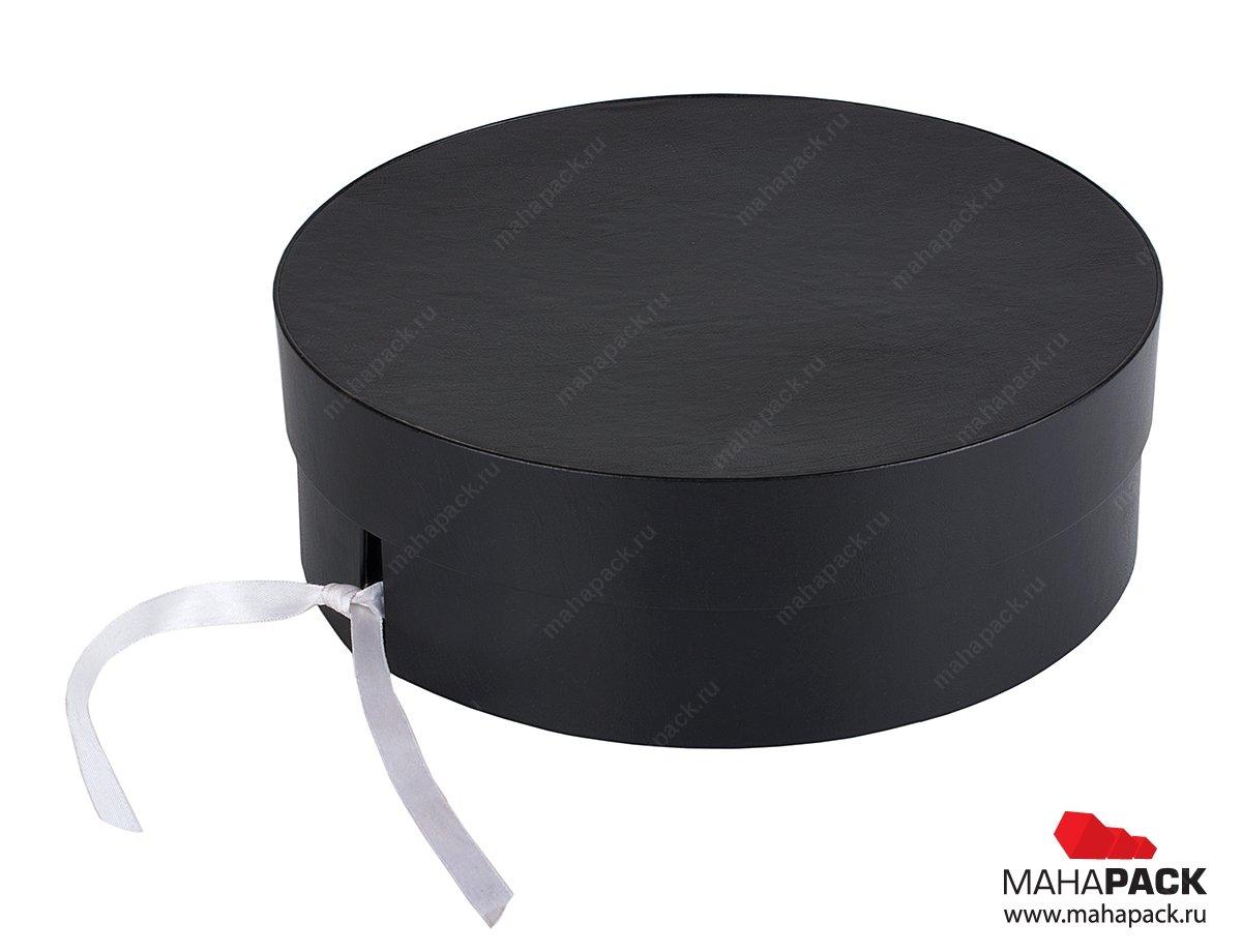 изготовление круглых шляпных коробок