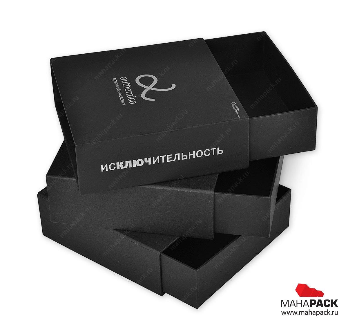 элитная подарочная упаковка - коробка трансформер трехуровневая