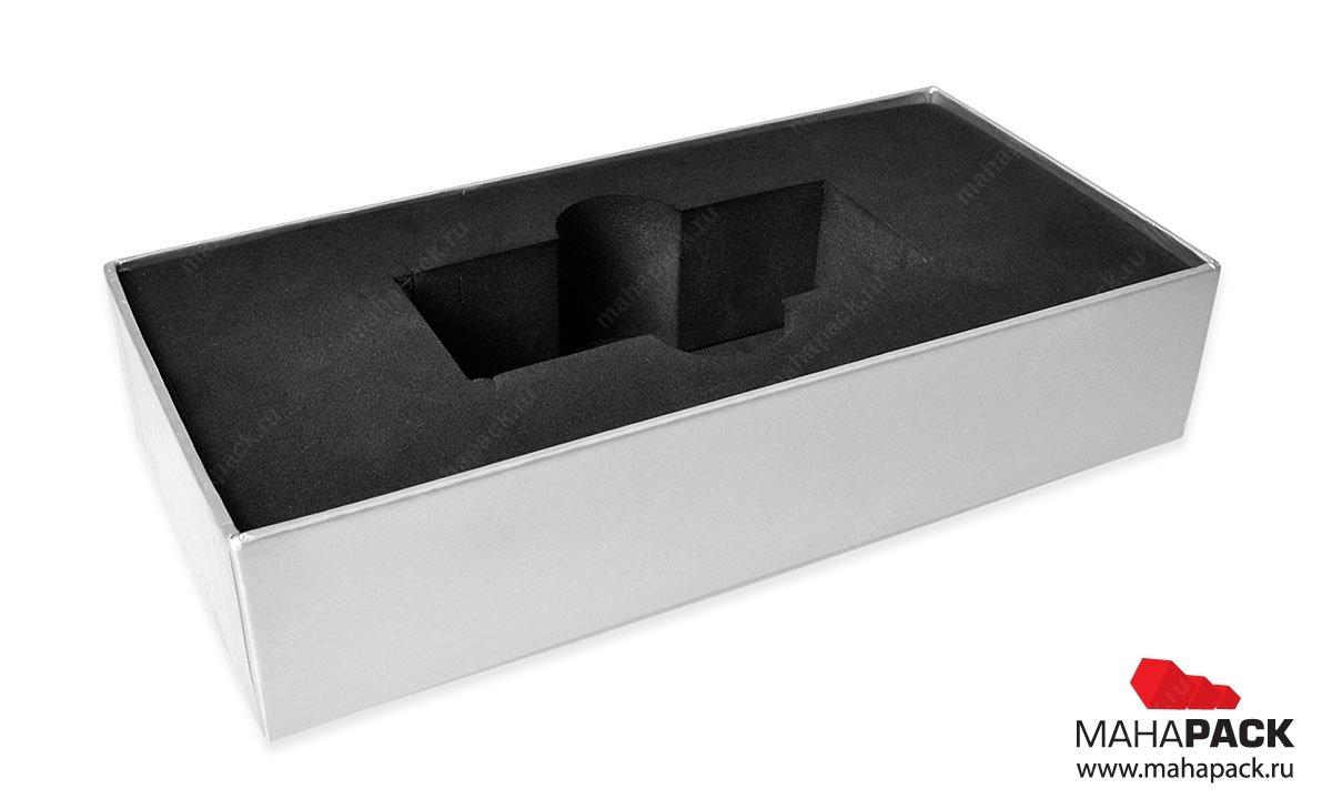 коробочка подарочная с мягким ложементом из ЭВА