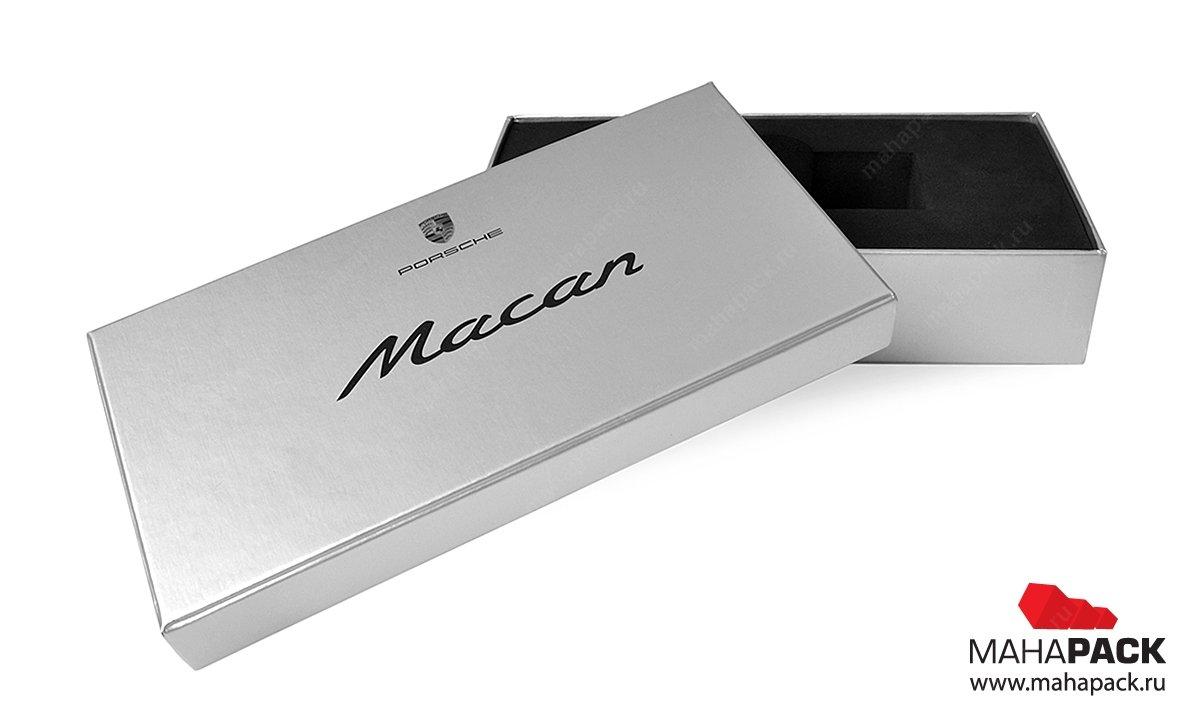 подарочная упаковка - премиум коробка с мягким ложементом