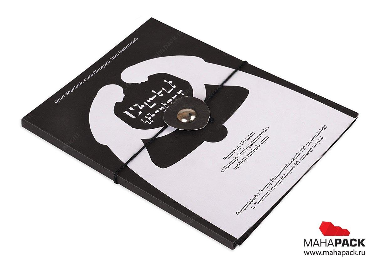 подарочная упаковка для диска из дизайнерского картона