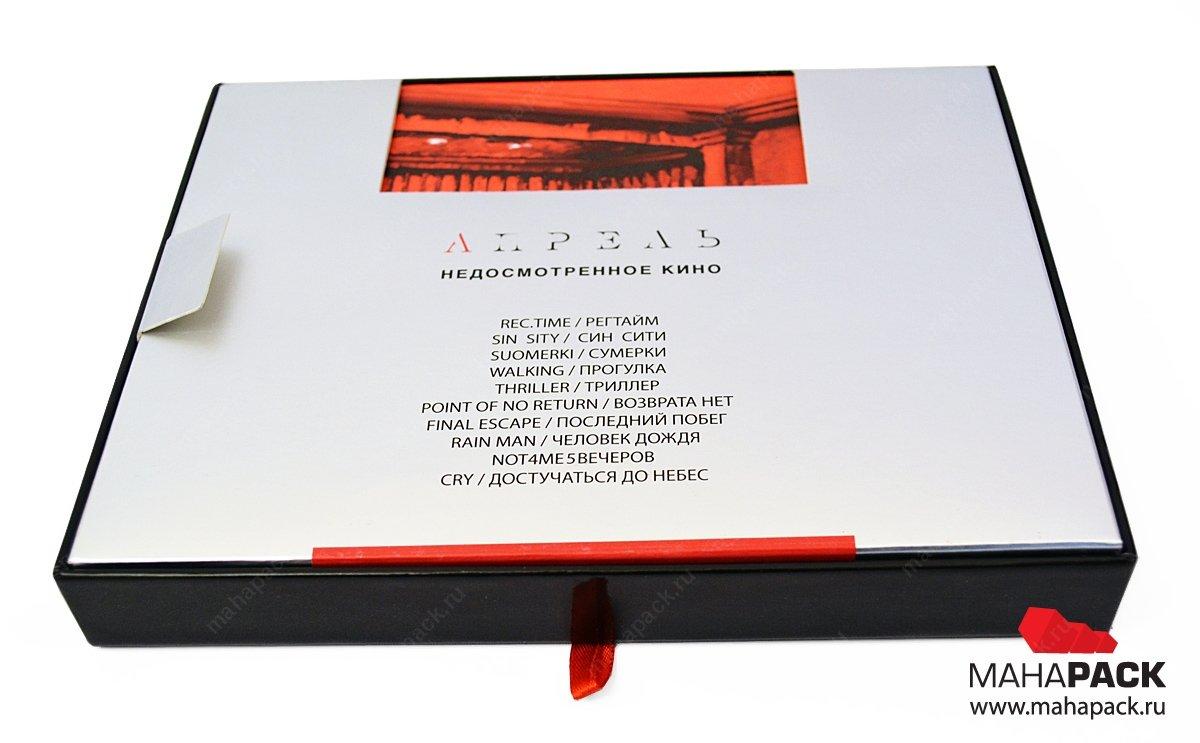 Индивидуальная кашированная упаковка с флокированным ложементом