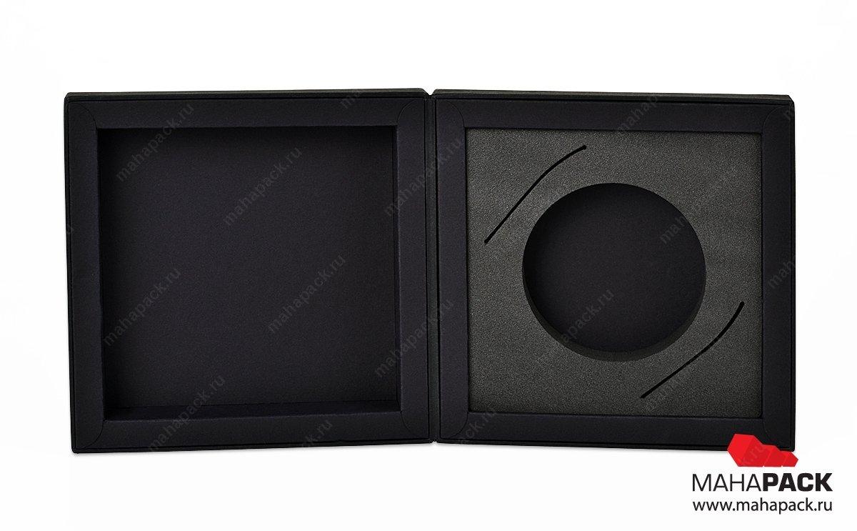 изготовление фирменных коробок подарочных бизнес класса с ЭВА ложементом