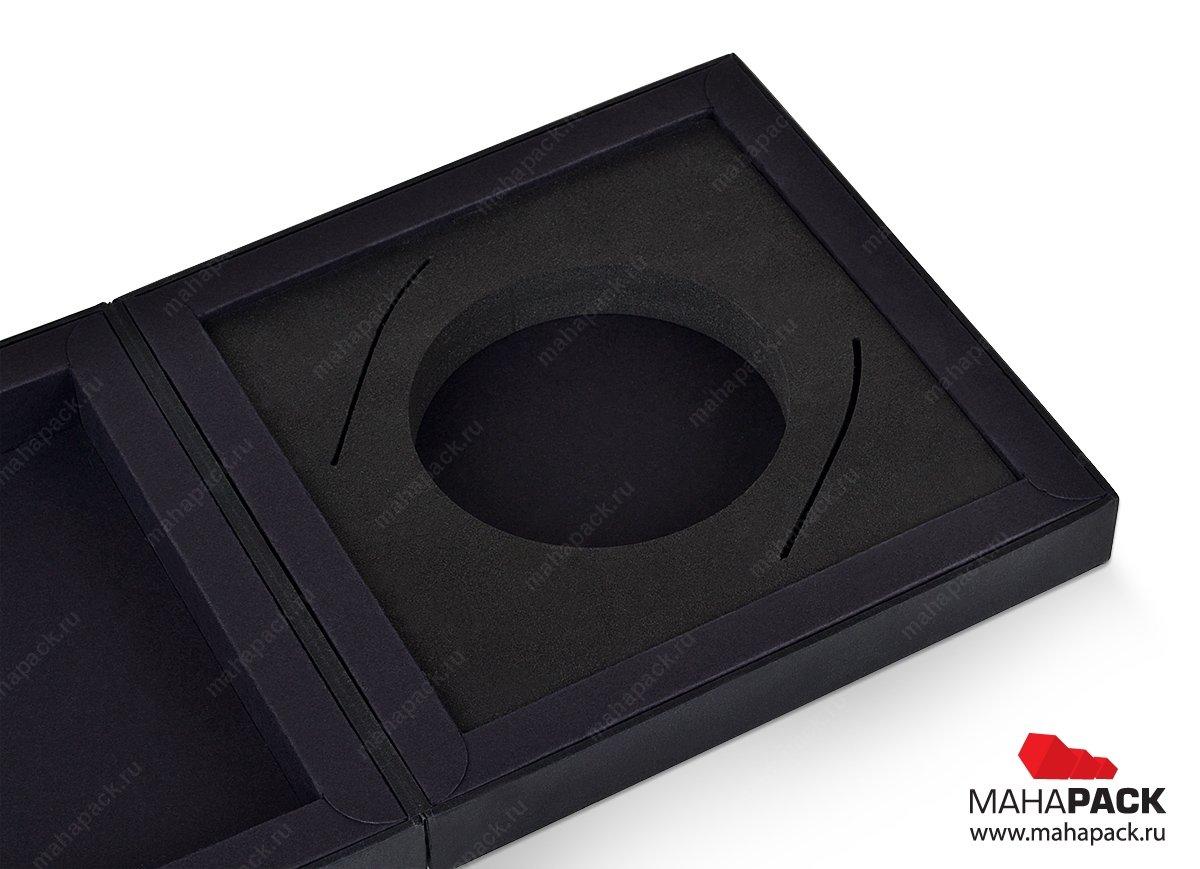 подарочная упаковка коробка-шкатулка с ЭВА ложементом