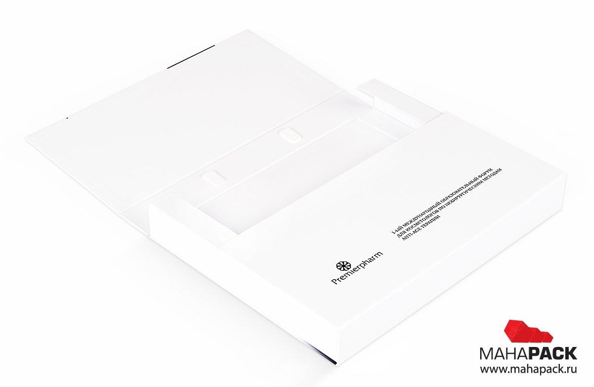 портфель папка с образцами продукции для конференций
