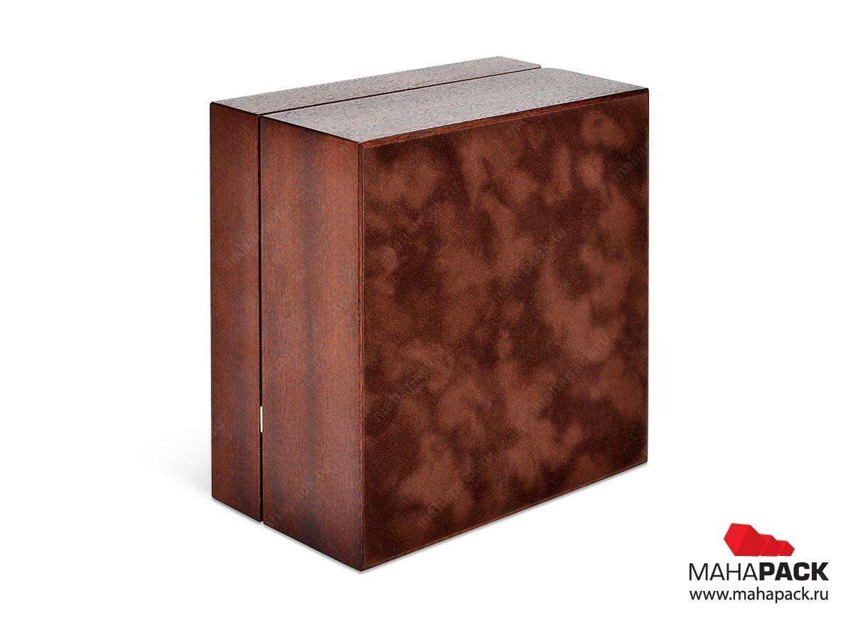 коробки деревянные большим тиражом
