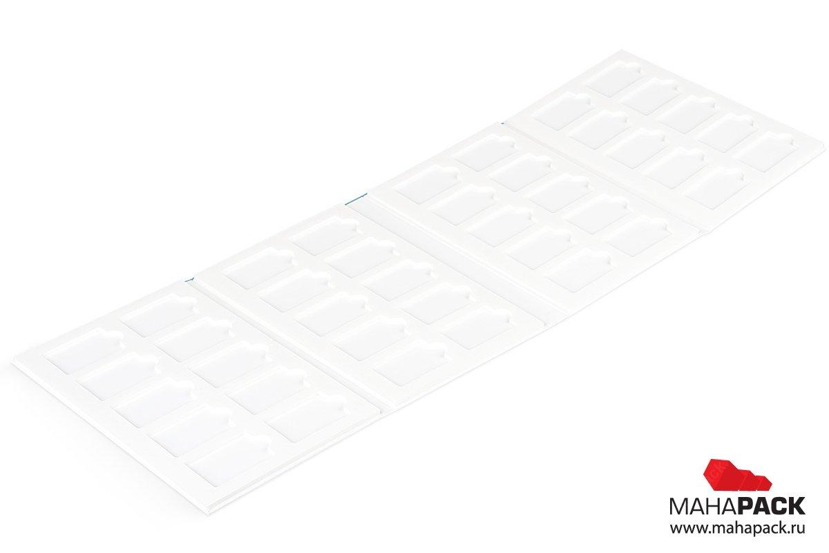 кашированная папка для образцов