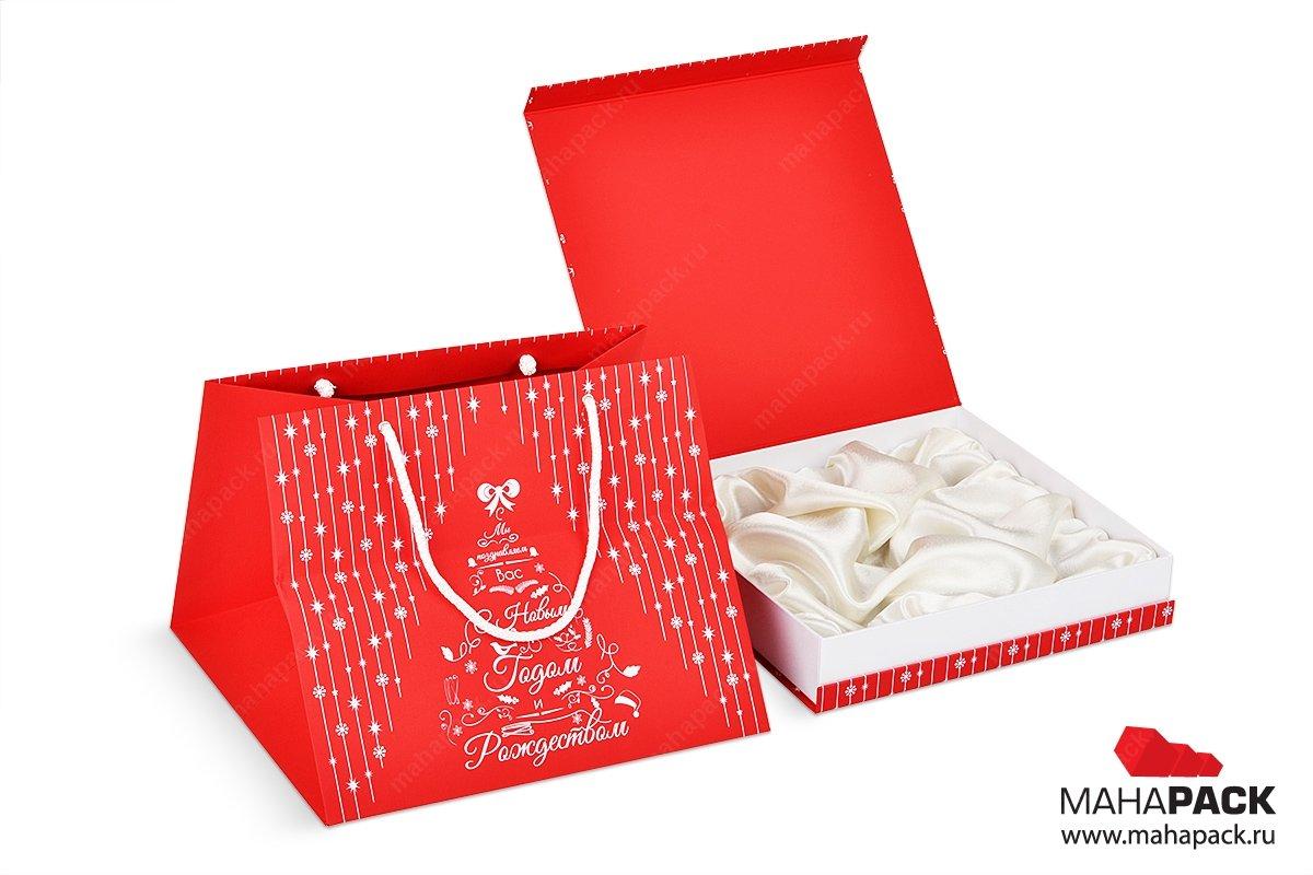 производство подарочных коробок с пакетами
