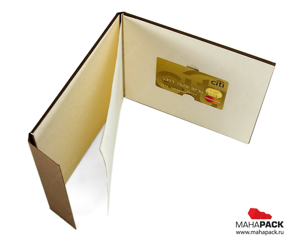 VIP Упаковка для пластиковой карты