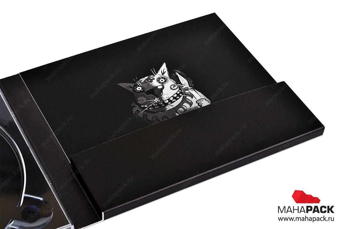 эксклюзивная упаковка - CD-диджипак с набором карточек