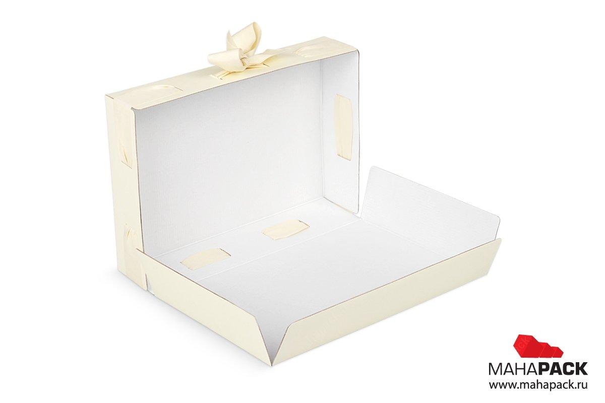 изготовление подарочной упаковки с лентой