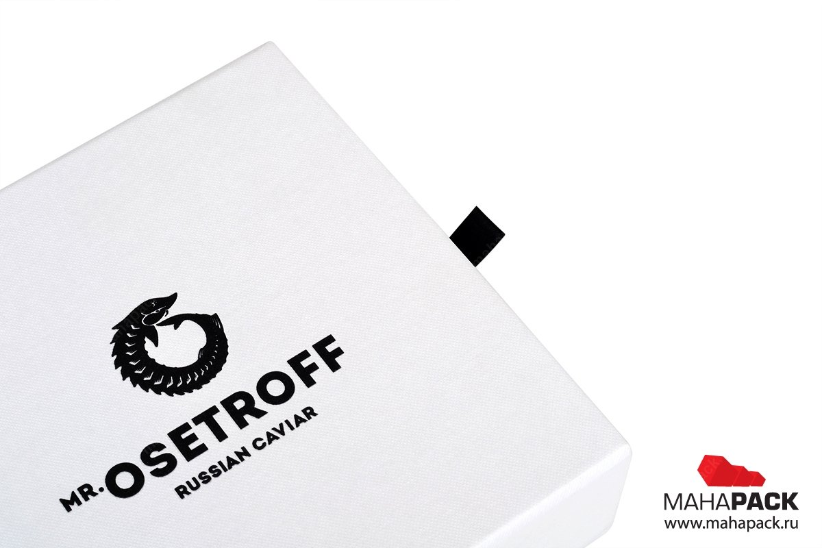 упаковка сувениров с фирменным логотипом