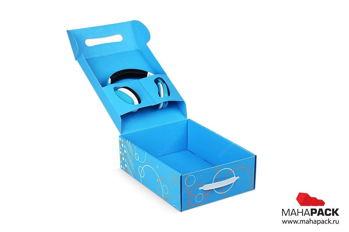 упаковка для корпоративного подарка - подарочная коробка-самолет