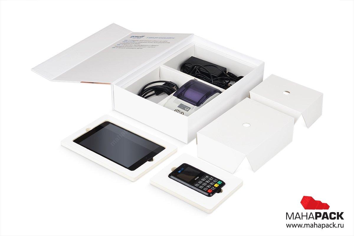 коробка для мобильной кассы - разработка дизайна и производство