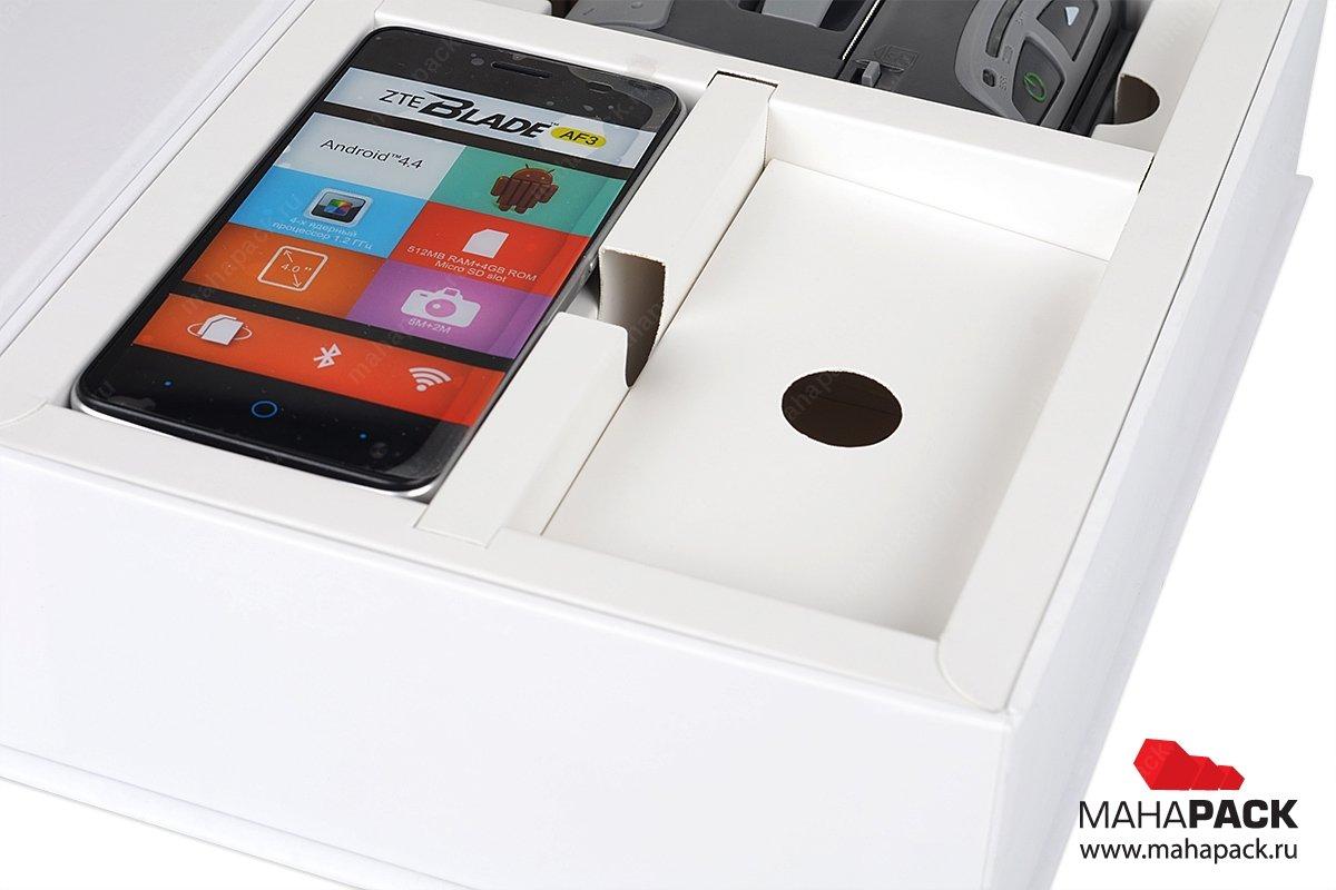 коробки под заказ с ложементом под мобильную кассу