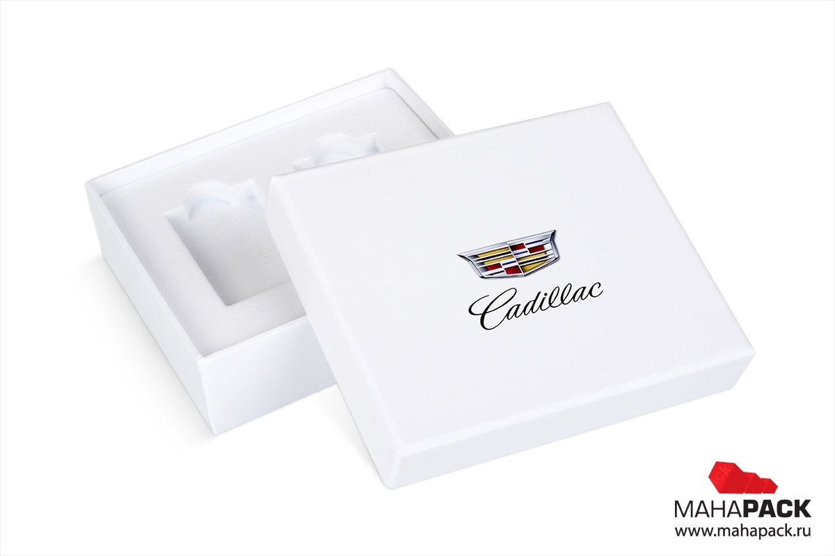 упаковка vip крышка-дно с soft touch ламинацией