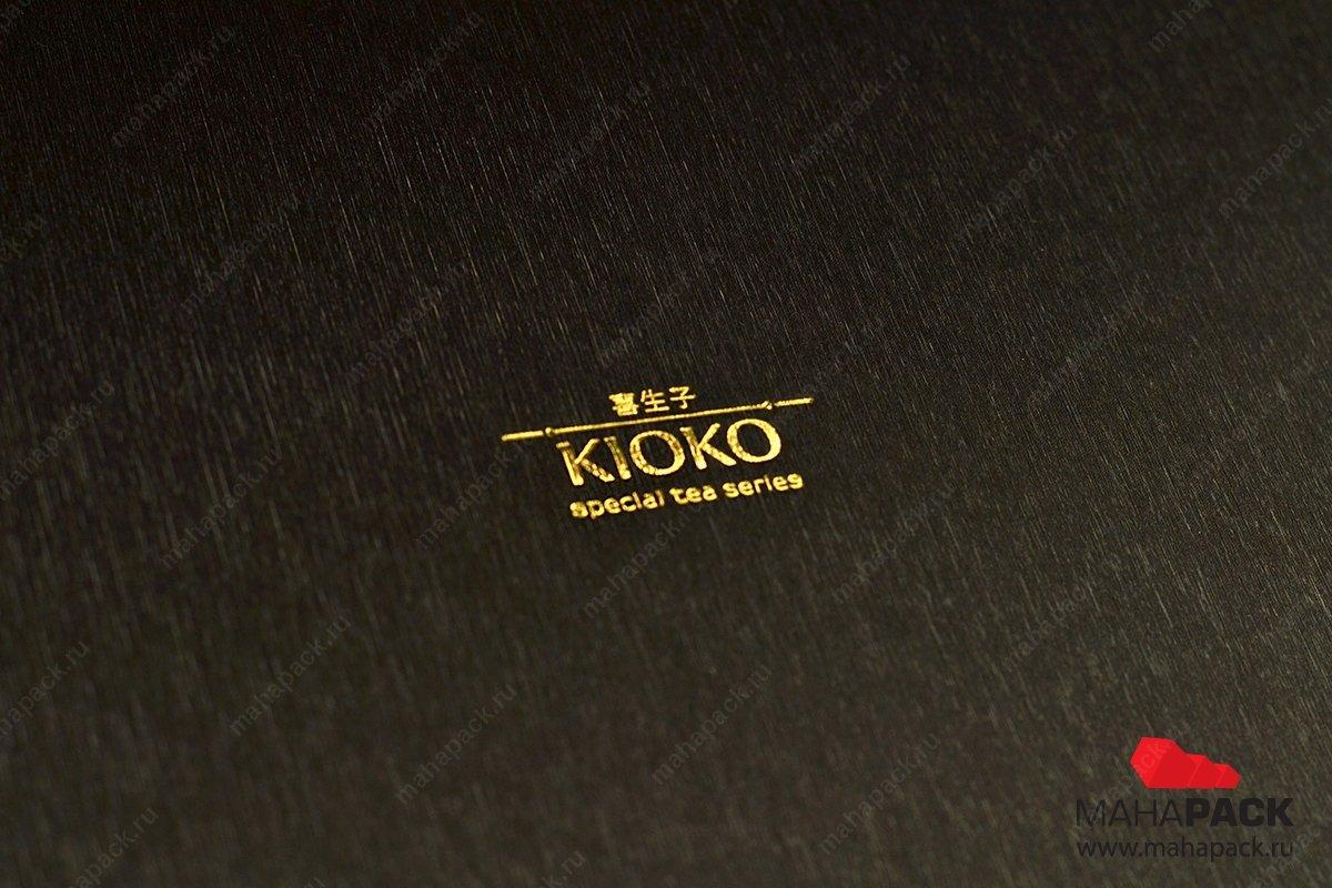 коробка с логотипом компании