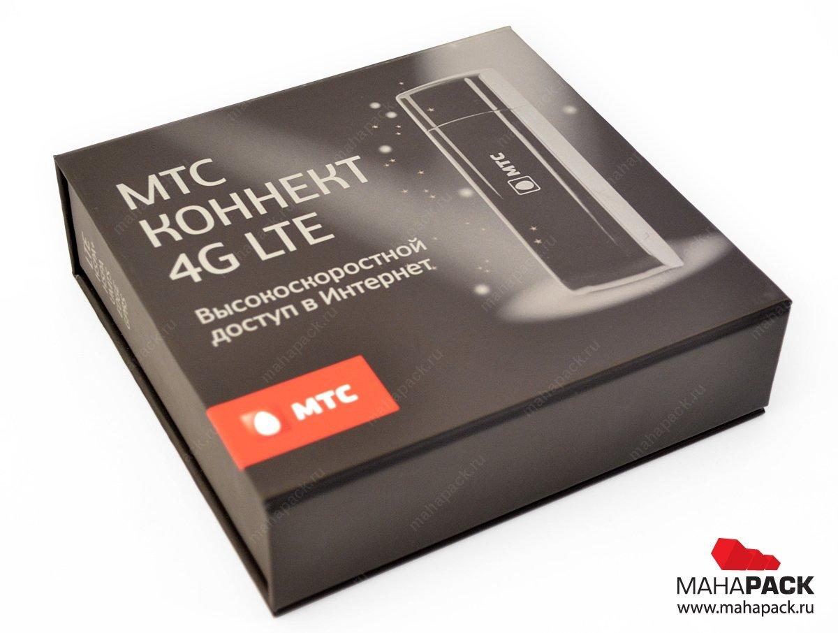 Кашированная упаковка-книжка с клапаном на магните