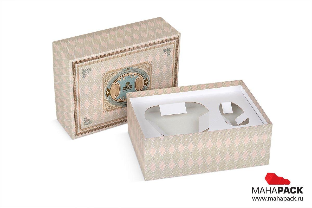 подарочные коробки для сувенирных наборов большим тиражом