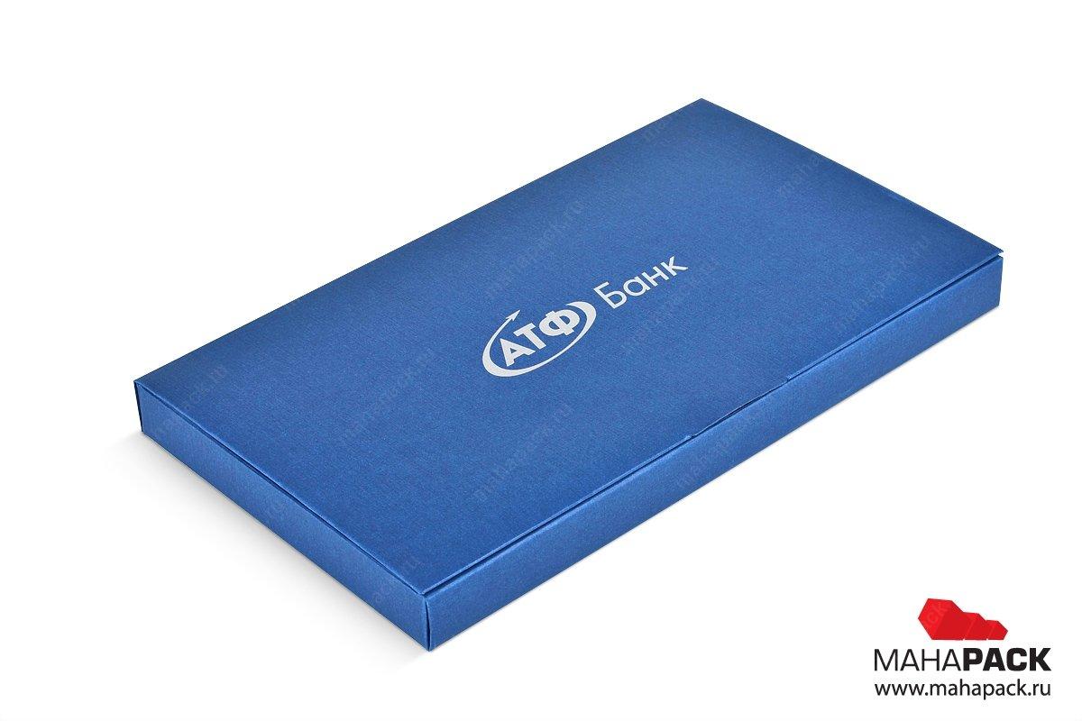 коробка книжка для пластиковых карт