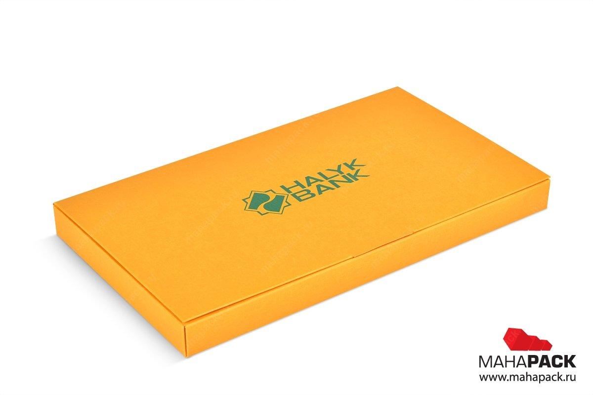 коробка для пластиковой карты - разработка дизайна и производство
