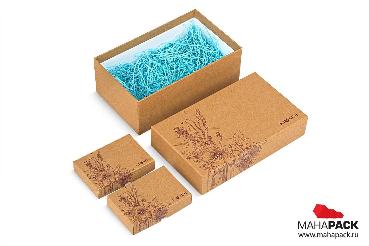 подарочные коробки из переплетного картона для чая