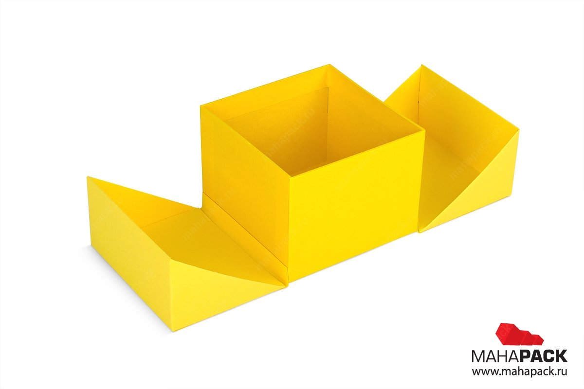 коробка со створками производство по вашим макетам