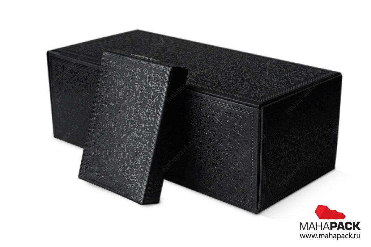 производство набора коробокбольшим тиражом