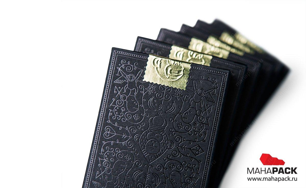 упаковка подарочная для набор игральных карт