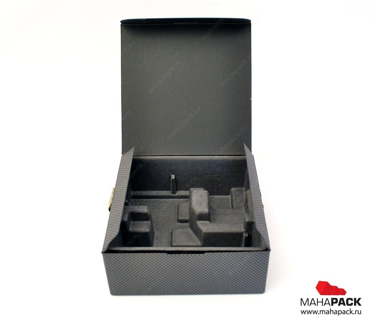 Самосборная коробка-книжка из плотного картона