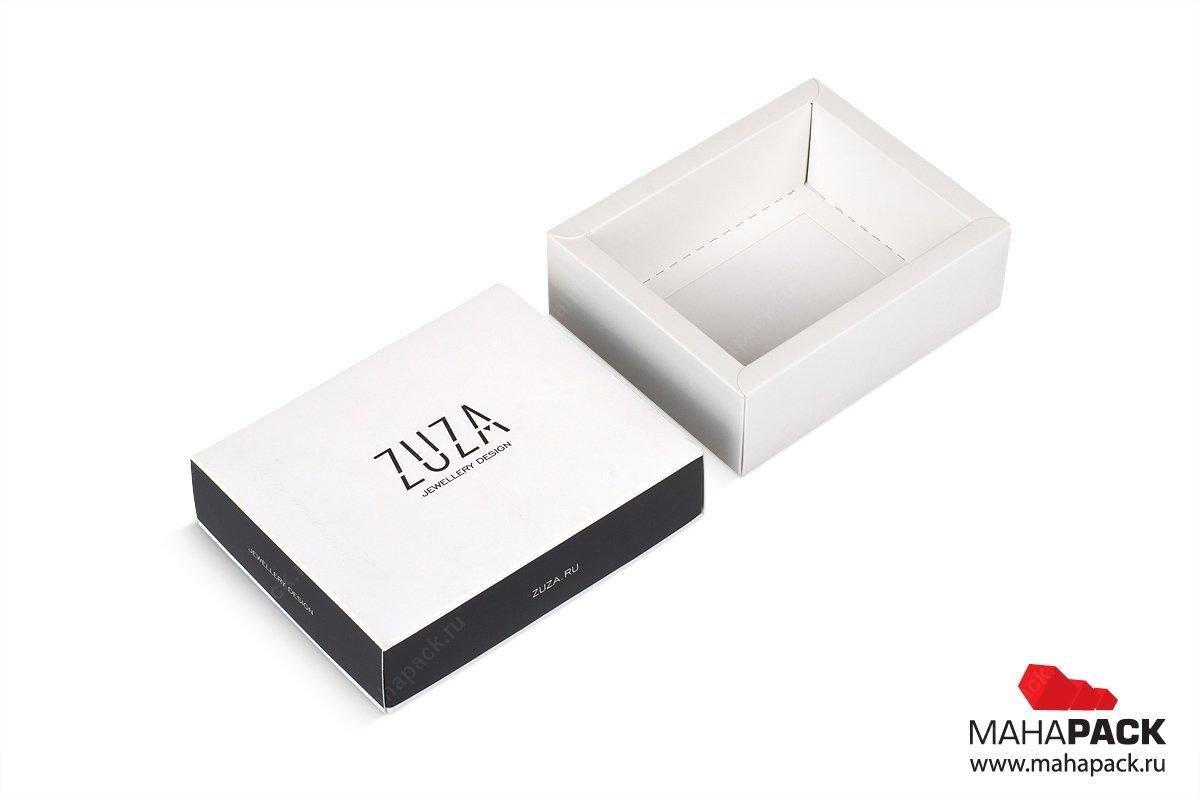коробка крышка-дно - разработка дизайна и производство