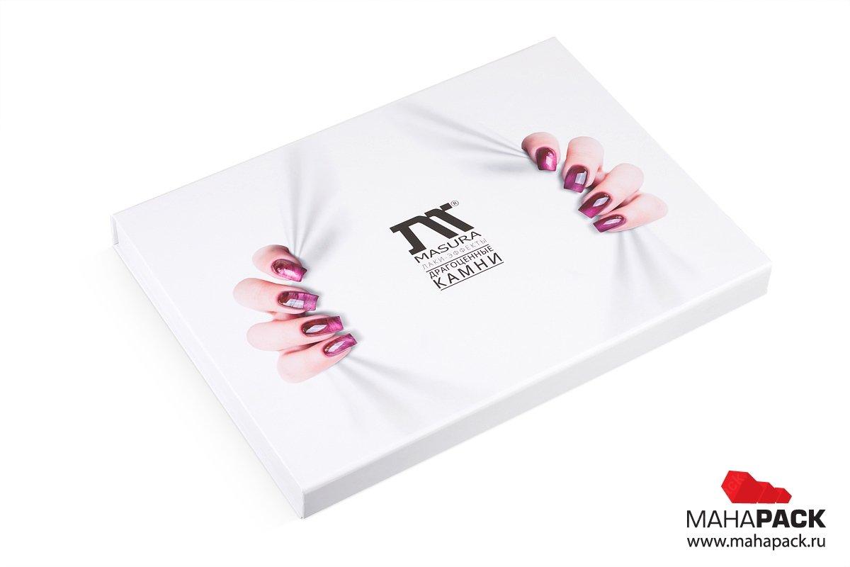 изготовление каталогов с образцами в виде папки с ручками