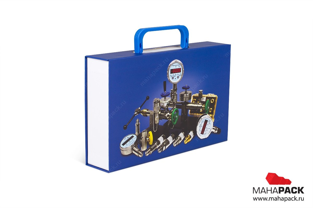 коробка портфель с ручкой для оборудования