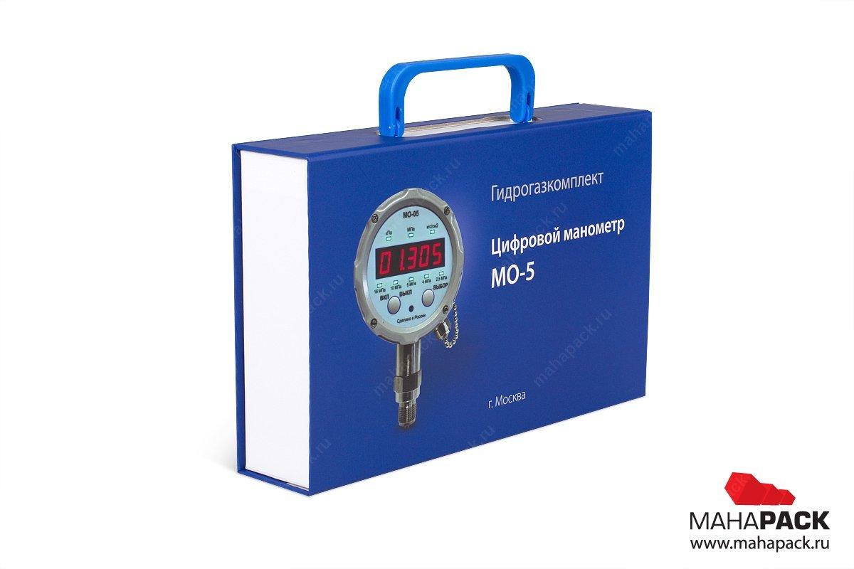корпоративная упаковка для оборудования с ручкой