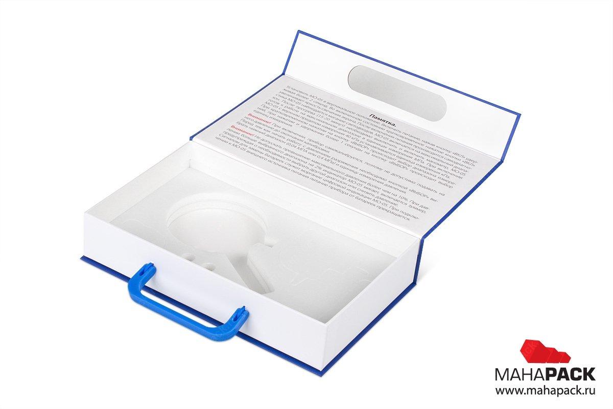презентационная коробка для оборудования с изолоновым ложементом