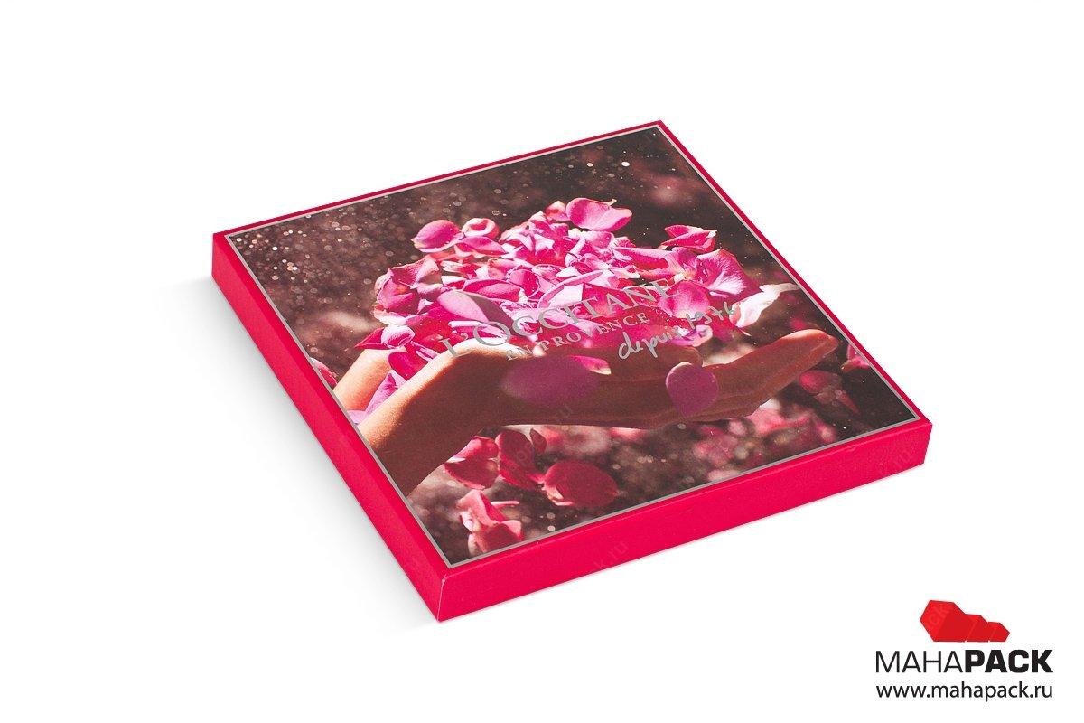 подарочная коробка крышка дно для косметики