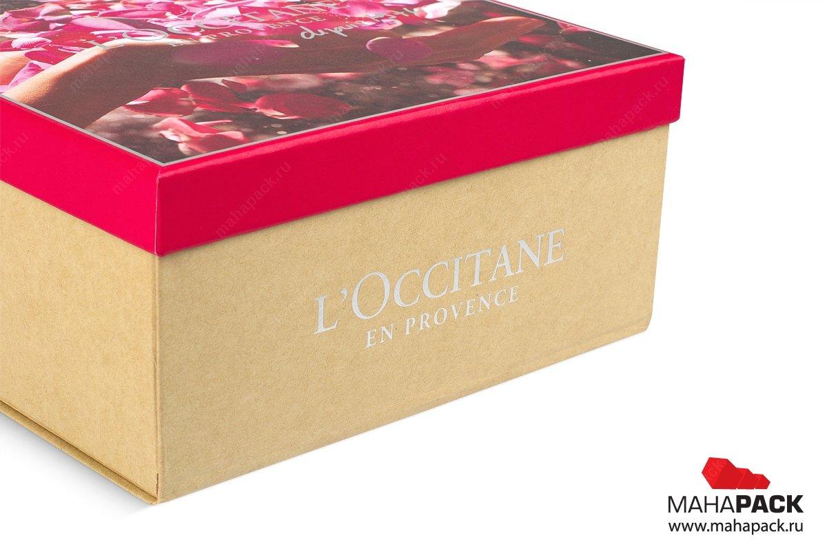 подарочные упаковки с крышкой для косметики